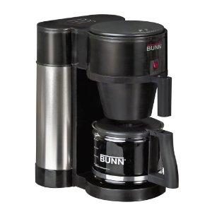 BUNN NHBX-B Contemporary 10-Cup Home Coffee Brewer, Black