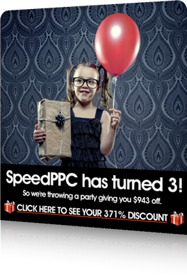 SpeedPPC 3rd Birthday Celebrations