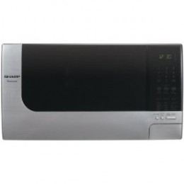 Sharp R-315JS 1-1/5-Cubic-Foot 1200-Watt Microwave Oven, Stainless