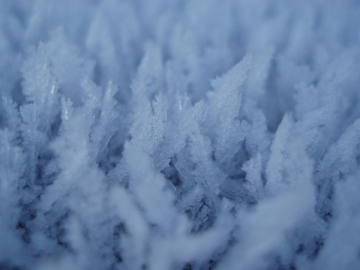 Sometimes it can feel so cold that you think ice is forming inside your house. Image from Christmas Stock Images.