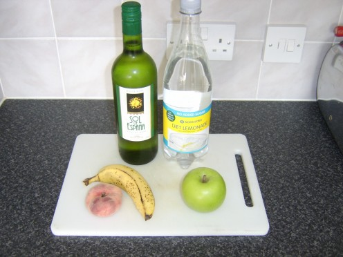 White Wine Sangria Ingredients