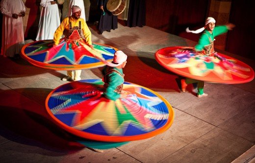 Sufi whirling
