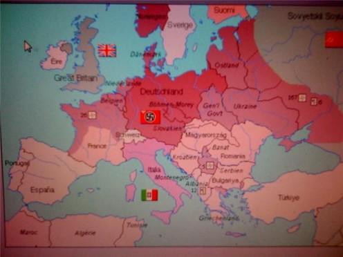 Nazi controlled Europe 1942