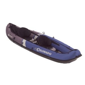 Sevylor Inflatable Colorado Canoe, 2-Person