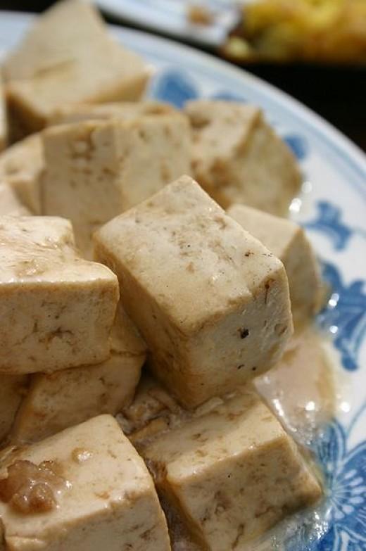 Almond Bean Curd (Tofu).