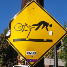 "Cyclists don't need ""help"" crashing!"