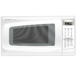 Sharp R-402JW 1-2/5-Cubic-Foot 1100-Watt Microwave, White