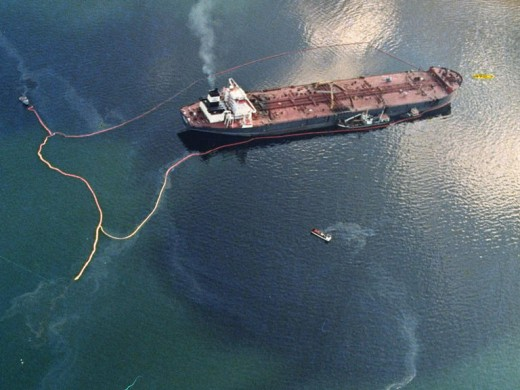 The Exxon Valdez was a single oil tanker. The BP spill so far can fill hundreds of these ships and that doesn't include all the escaped gas.