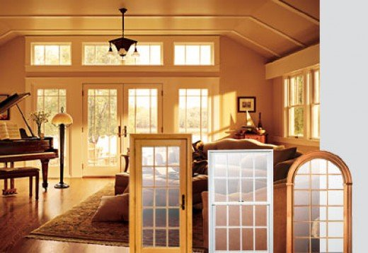Insert replacemant windows by Andersen are easy to install.