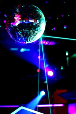 A disco ball is a great way to light up a party with some Disco Lights!