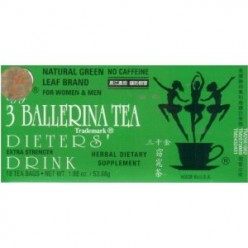 * 3 Ballerina Herbal Weight Loss Slimming Tea And Capsules Reviews