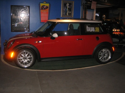 Mini Cooper from the Italian Job