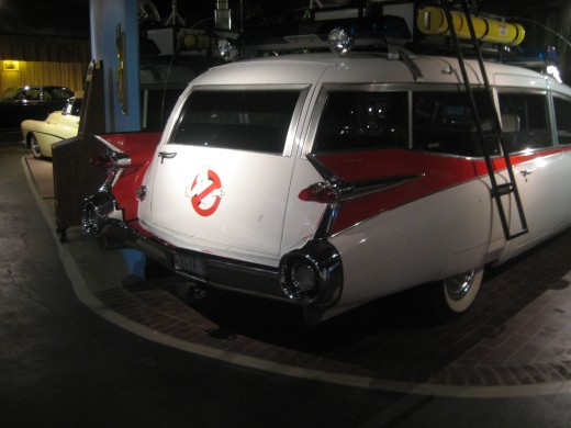 Ecto 1 from the Ghostbusters