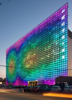 GreenPix creates massive, self-sustaining LED display ....