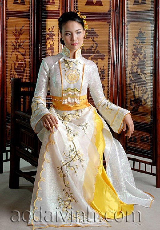 New Traditional Dress Vietnam  Flickr  Photo Sharing