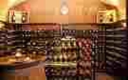 Well stocked wine cellar hold millions in vintages