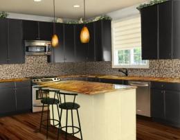 Island-style kitchen