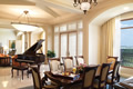 Foyer with Baby Grand