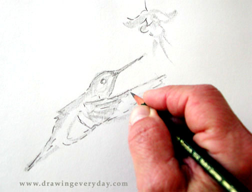 Drawing lessons online.    Image source - Drawingeveryday.com