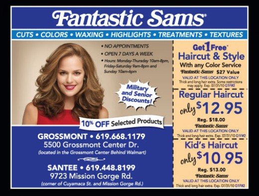 Coupons For Fantastic Sams Haircuts August 2018 Discounts