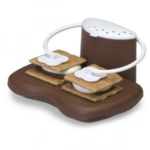 Enjoy delicious s'mores indoors with this easy-to-use contraption--no need to wait until summertime camping trips or gathering with friends around a bonfire at the beach. The nostalgia created with these sweet treats can now be savored any time of ye