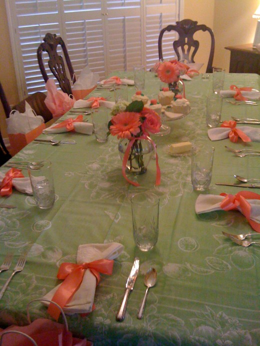 What a beautiful table!