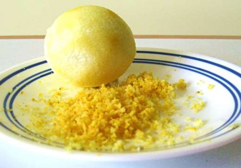 Lemon zest makes the crust of this tart special / Photo by E. A. Wright
