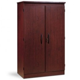 South Shore Furniture Morgan Collection Floor Cabinet and Stationery, Royal Cherry