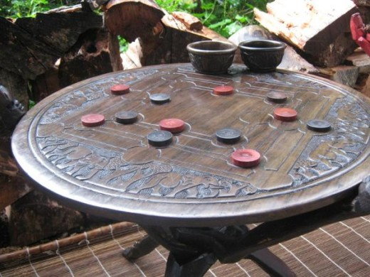 Bao & Morabaraba Coffee Table from Malawi.