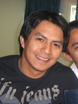 A/B Raymon Ibasco, the one who reported the incident to the ITF representative in Texas, USA.