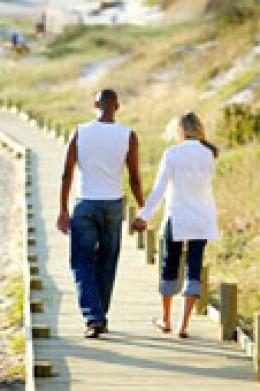 Walk and take glucosamine for arthritis relief!