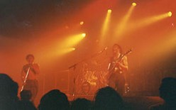 Playing it live in Vienna in 1993
