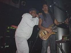Corey Glover (left) and Doug Wimbish