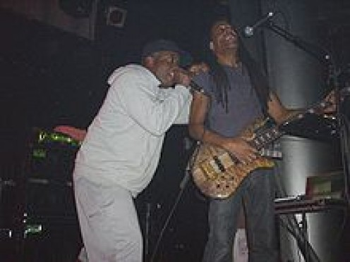 Corey Glover (left) and Doug Wimbish