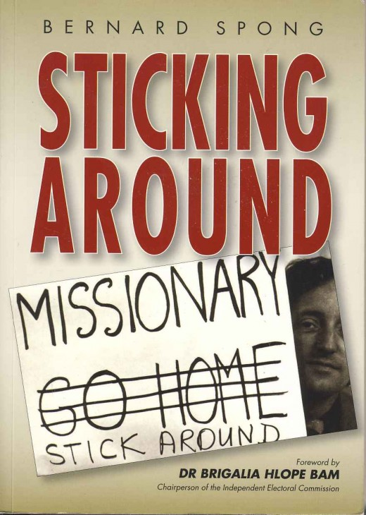 The cover of Bernard Spong's autobiography, published in 2006