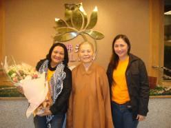 Director Daisy, Master Yung Guang and Me!