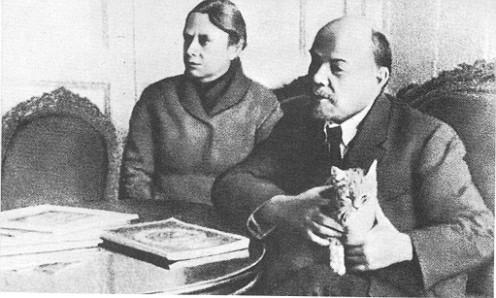 The killer of Lenin at work.