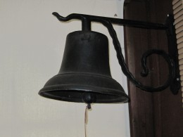 Be sure to ring the entrance bell.