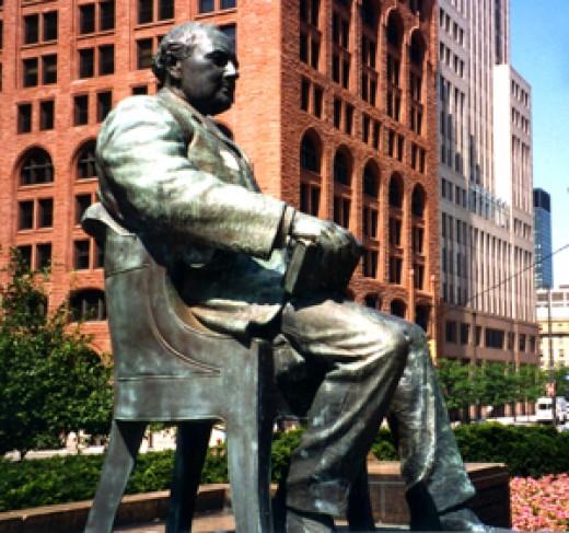 Tom L. Johnson Statue, Cleveland, Ohio
