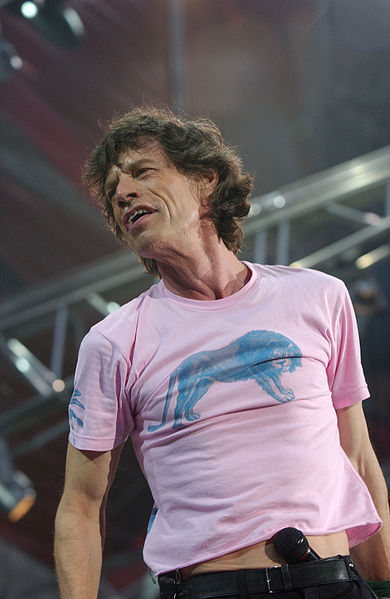 Mick Jagger in 2003