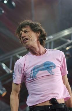 Mick Jagger in 2003
