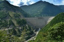 The Inguri Dam.