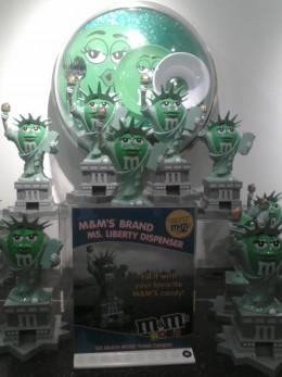Ms. Liberty M&M Candy Dispenser