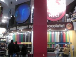 The M&M Wall of Chocolate
