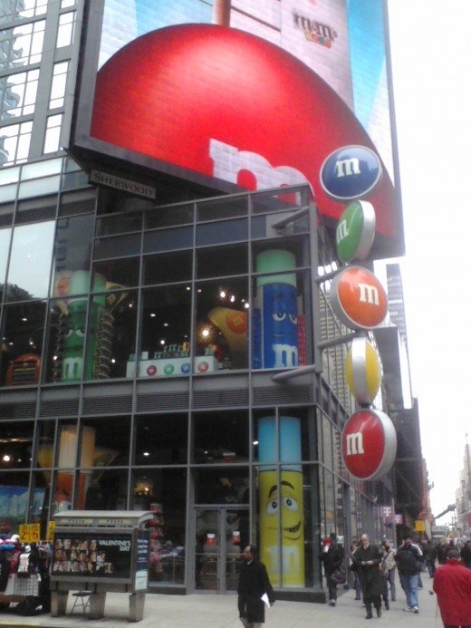 Entrance to M&M World