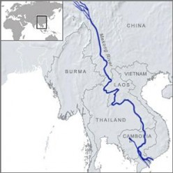 Mekong River Route