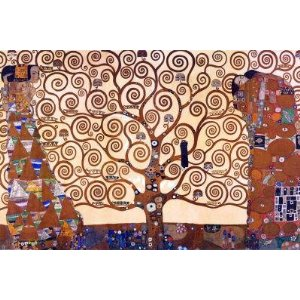 "Gustav Klimt (Tree of Life) Art Poster Print - 36"" X 24"""