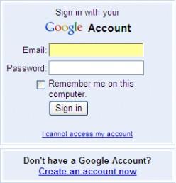 Get an account
