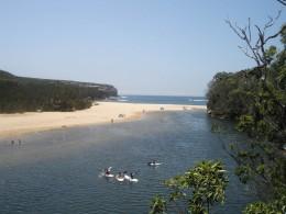 "Wattamolla: Aboriginal for ""place near running water""."