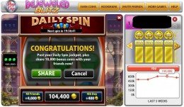 Daily Spin: You can make a few to 1 million gold coins in Daily Spin!